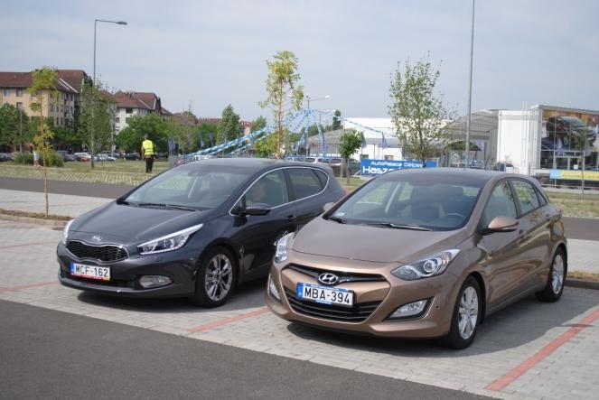 Testverharc Hyundai I30 Es Kia Cee D Osszehasonlito Teszt Gablini Hu