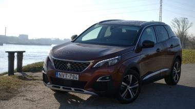 Vissza a jövőbe - új Peugeot 3008 1.6 BlueHDI 120 teszt